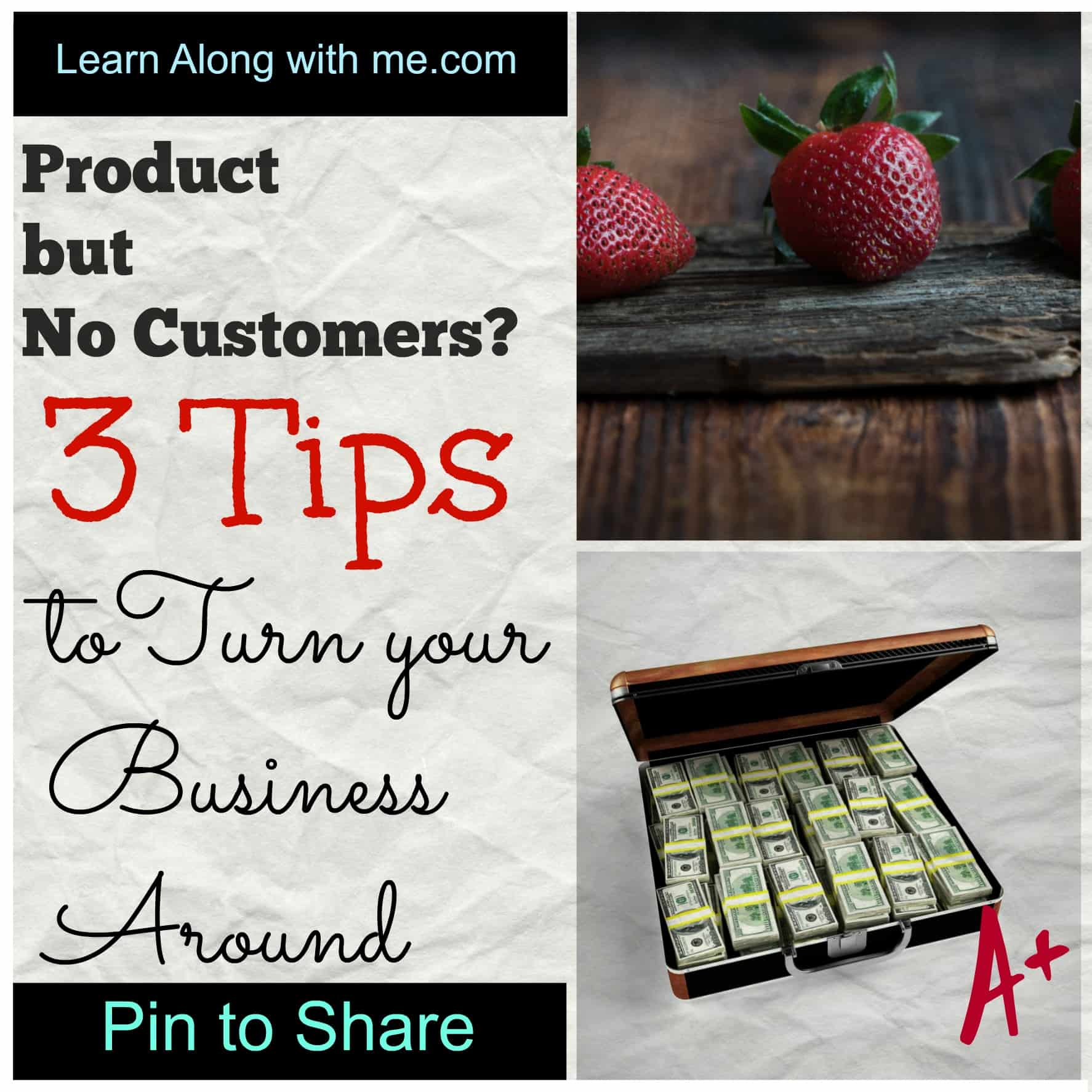 Product but no customers? Determine your ideal customers