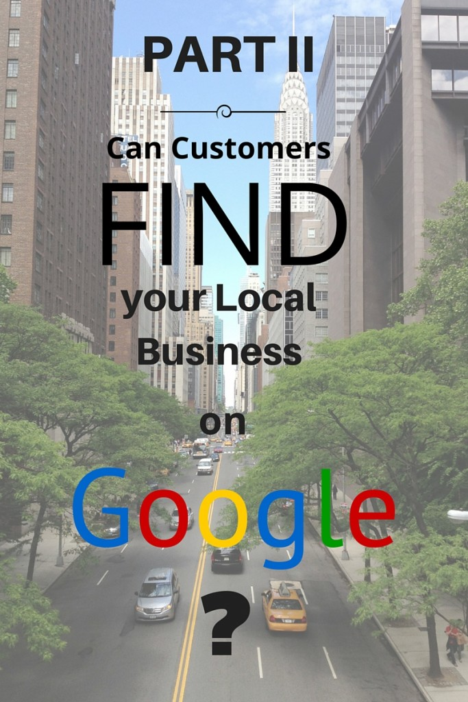 Can Customers Find your Local Business on Google