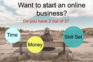 Seniors starting online businesses: 2 out of 3 principle