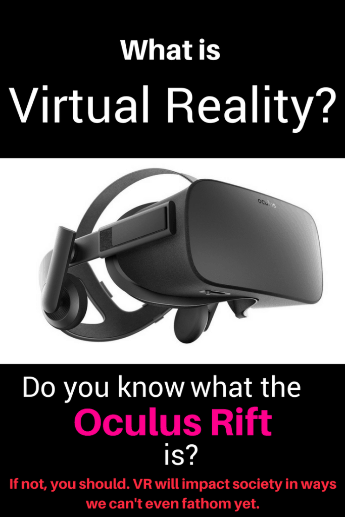 Virtual reality and oculus rift picture