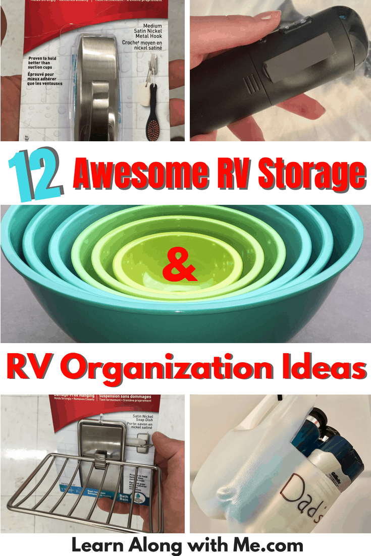 12 Awesome RV Storage and RV Organization Ideas