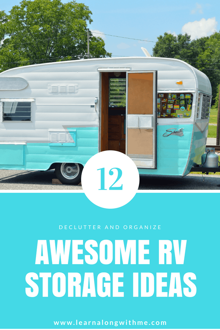 12 Awesome RV Storage Ideas