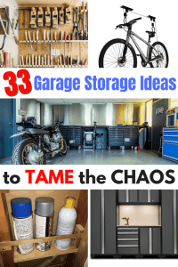 33 Garage Storage Ideas to help you tame the chaos today