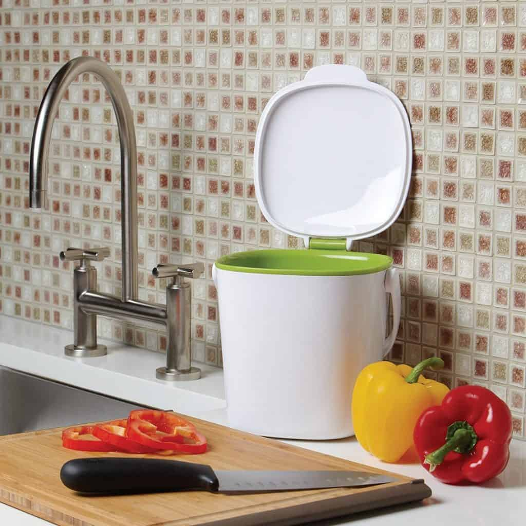 Food Compost Bin to sit on kitchen counter