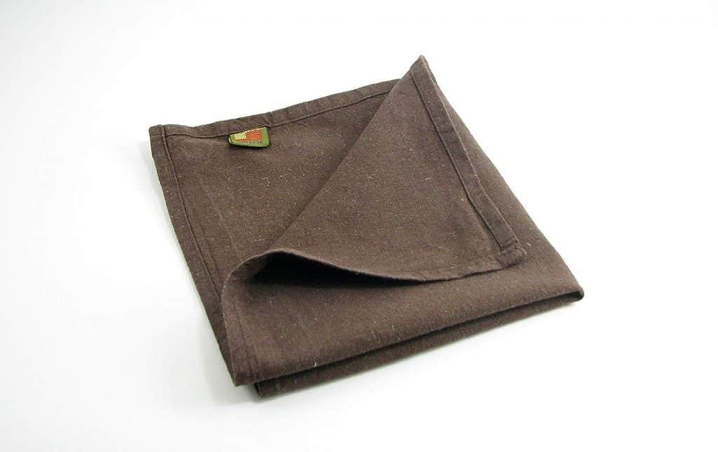 Hemp cloth napkin resuable to minimize waste