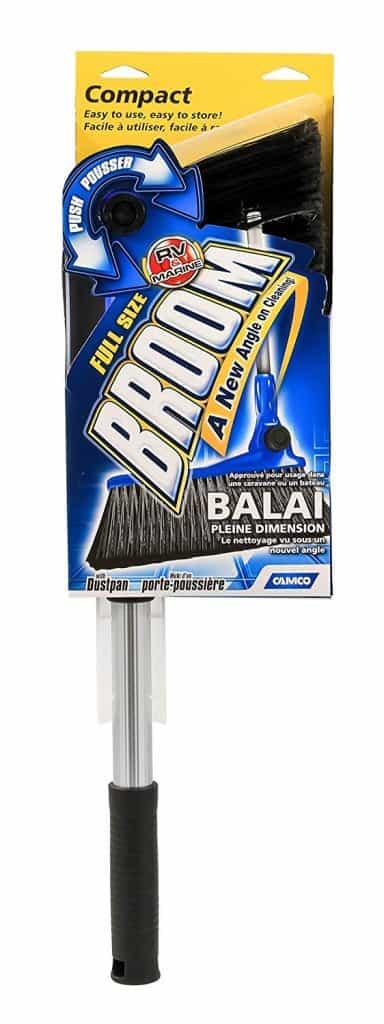 RV compact size broom