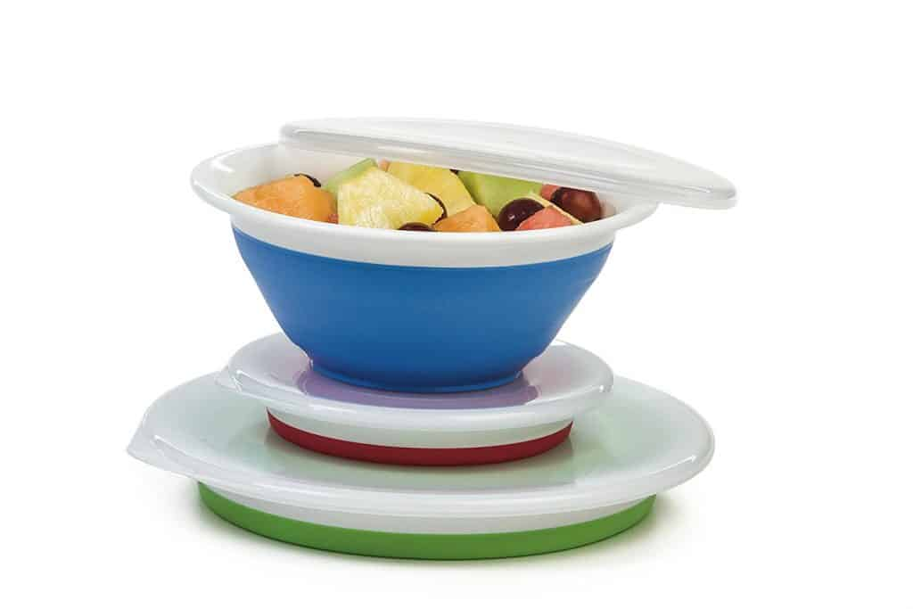 RV Kitchen Collapsible Bowls with Lids