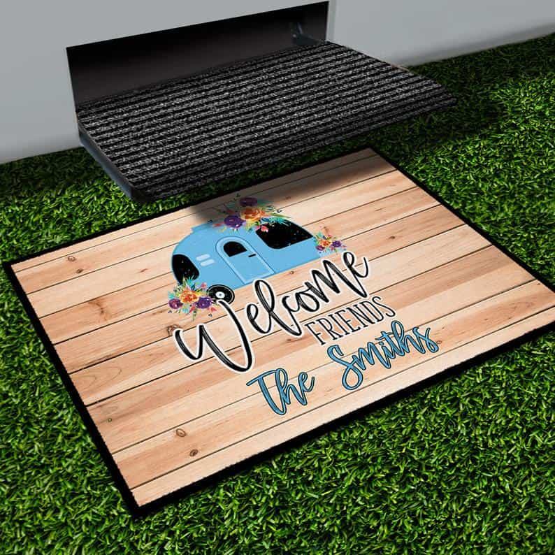 RV storage solutions outdoor rug
