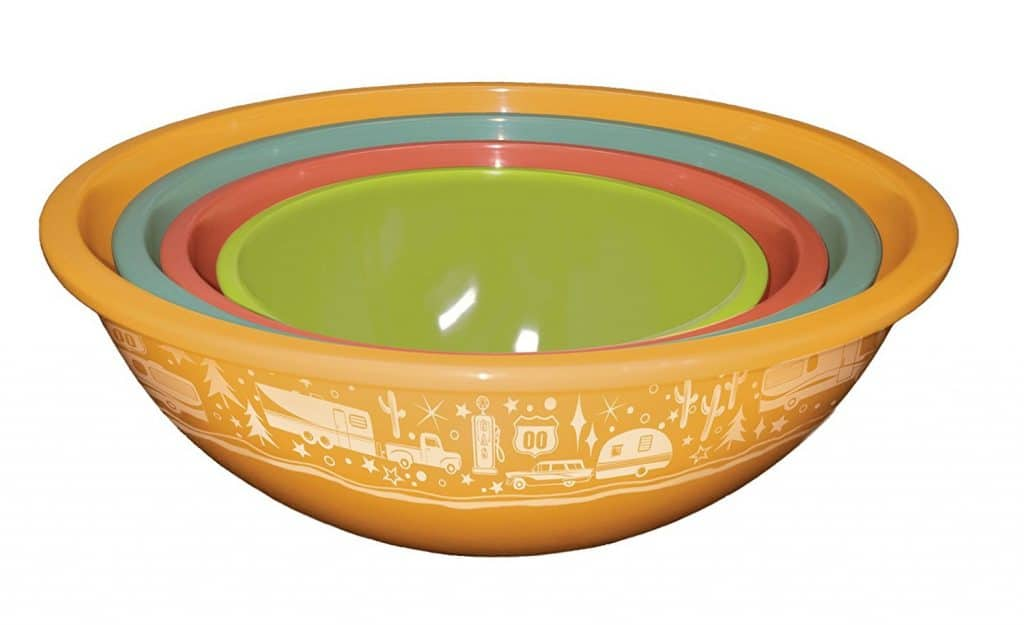RV Kitchen Nesting Bowls with Camper Design by camp casual