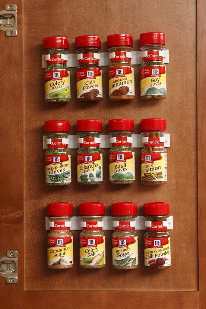 RV spice organizer / gripper