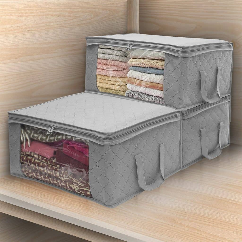 RV storage Bag for Clothes and Blankets are a great way to store clothes in your RV.
