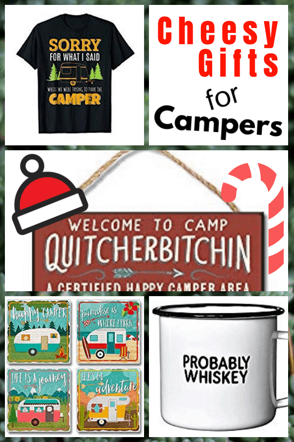 Cheesy Gifts for Campers