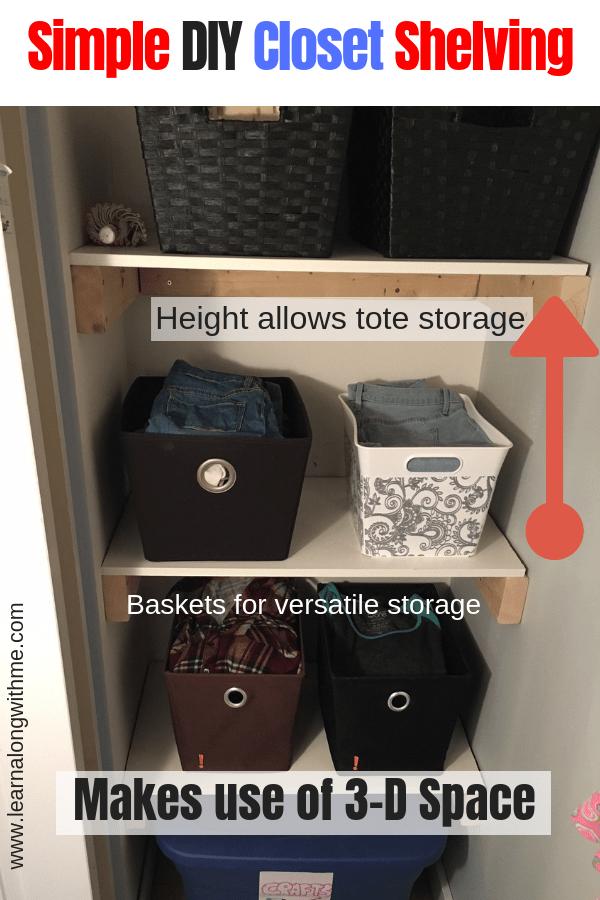 11 Smart Closet Storage Ideas And Closet Organization Hacks Learn Along With Me