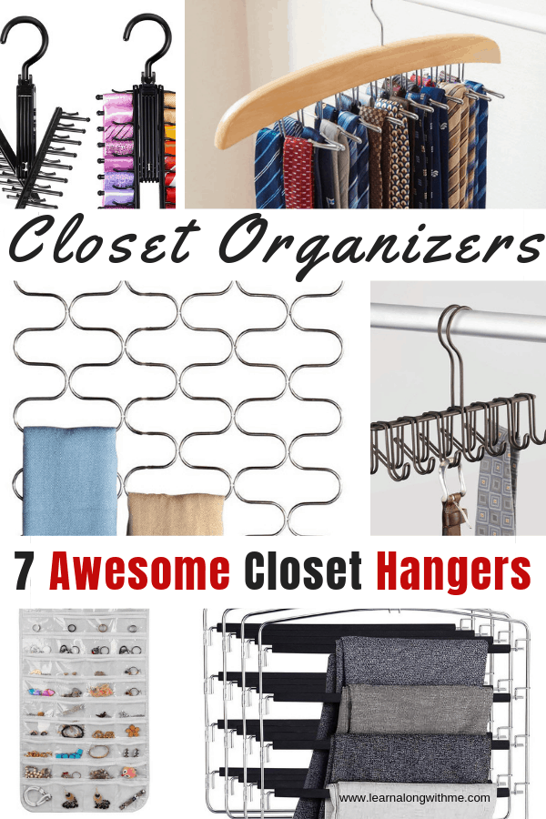 Closet Organizers : 7 Awesome Clothes and Accessory Hangers