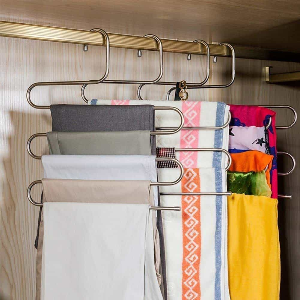 Closet Organizer - Pants Hangers