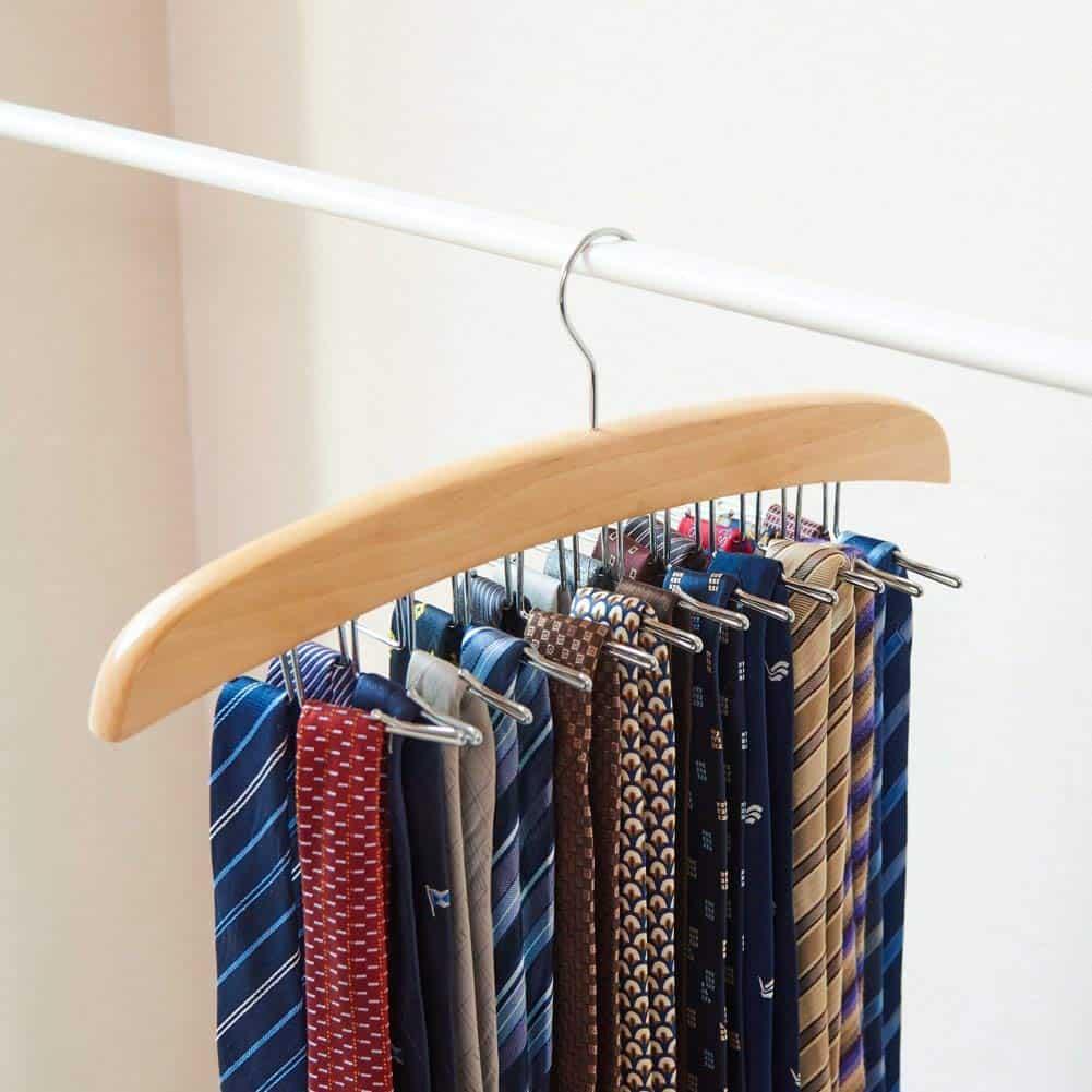 Closet Organizer - Tie rack