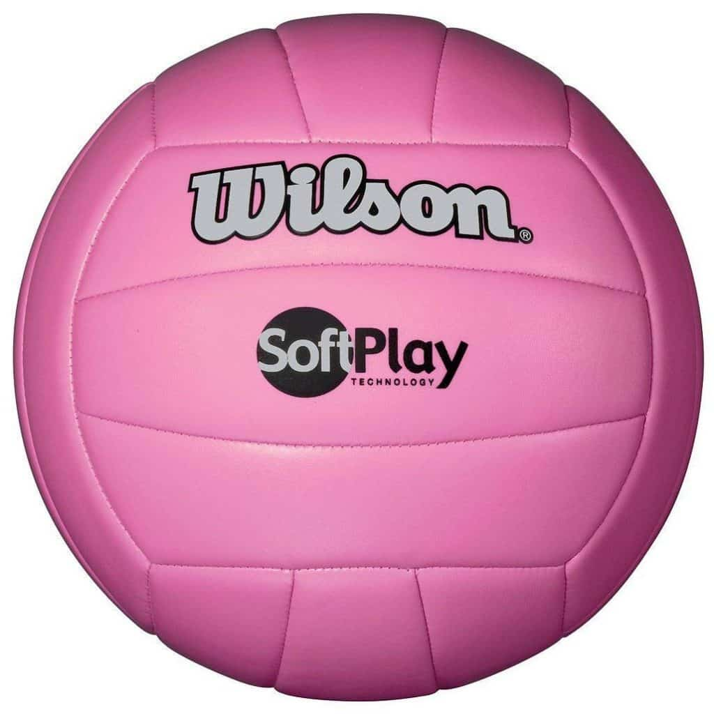 A soft volleyball like this can make volleyball a fun camping games for families. (shouldn't hurt the forearms as much)