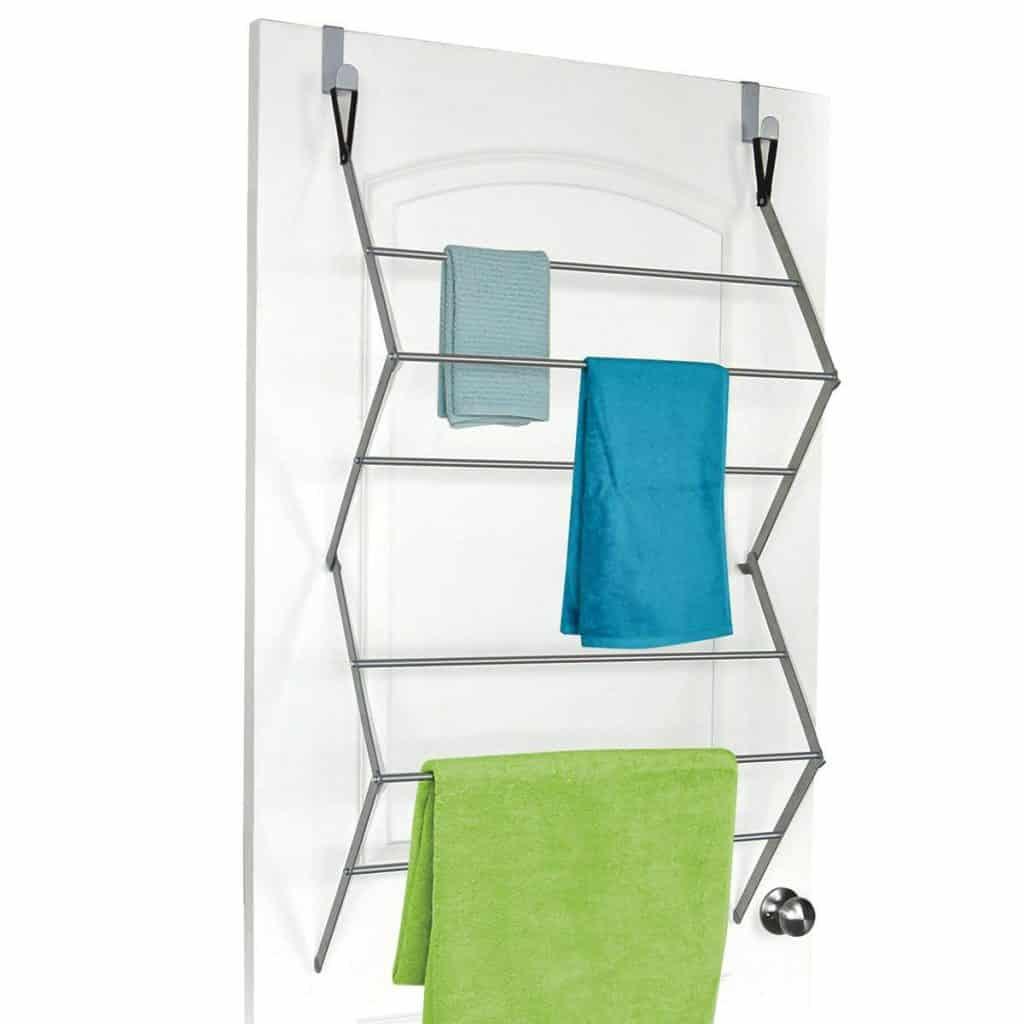 Laundry Drying rack ideas - over the door