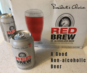 President's Choice Red Brew A good non-alcoholic beer