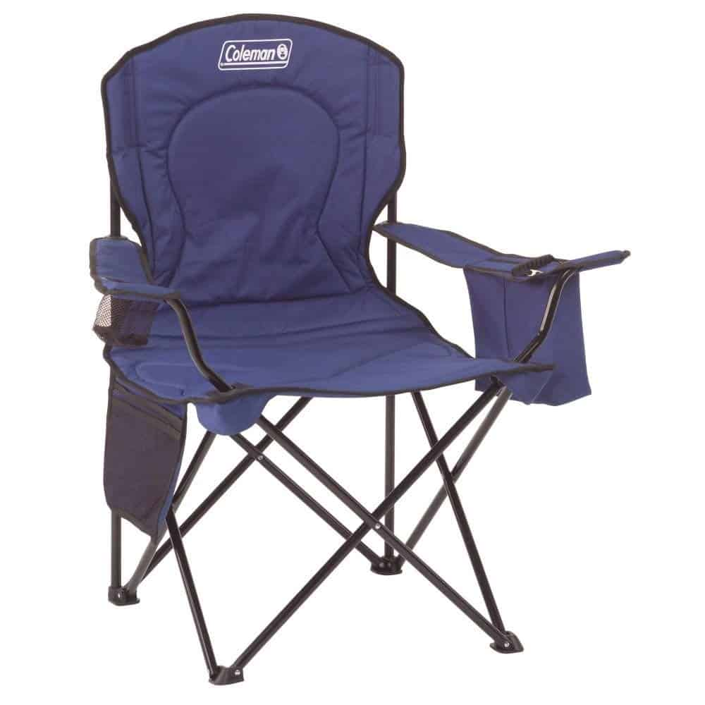 RV Outdoor Living Space Idea Coleman camping chair