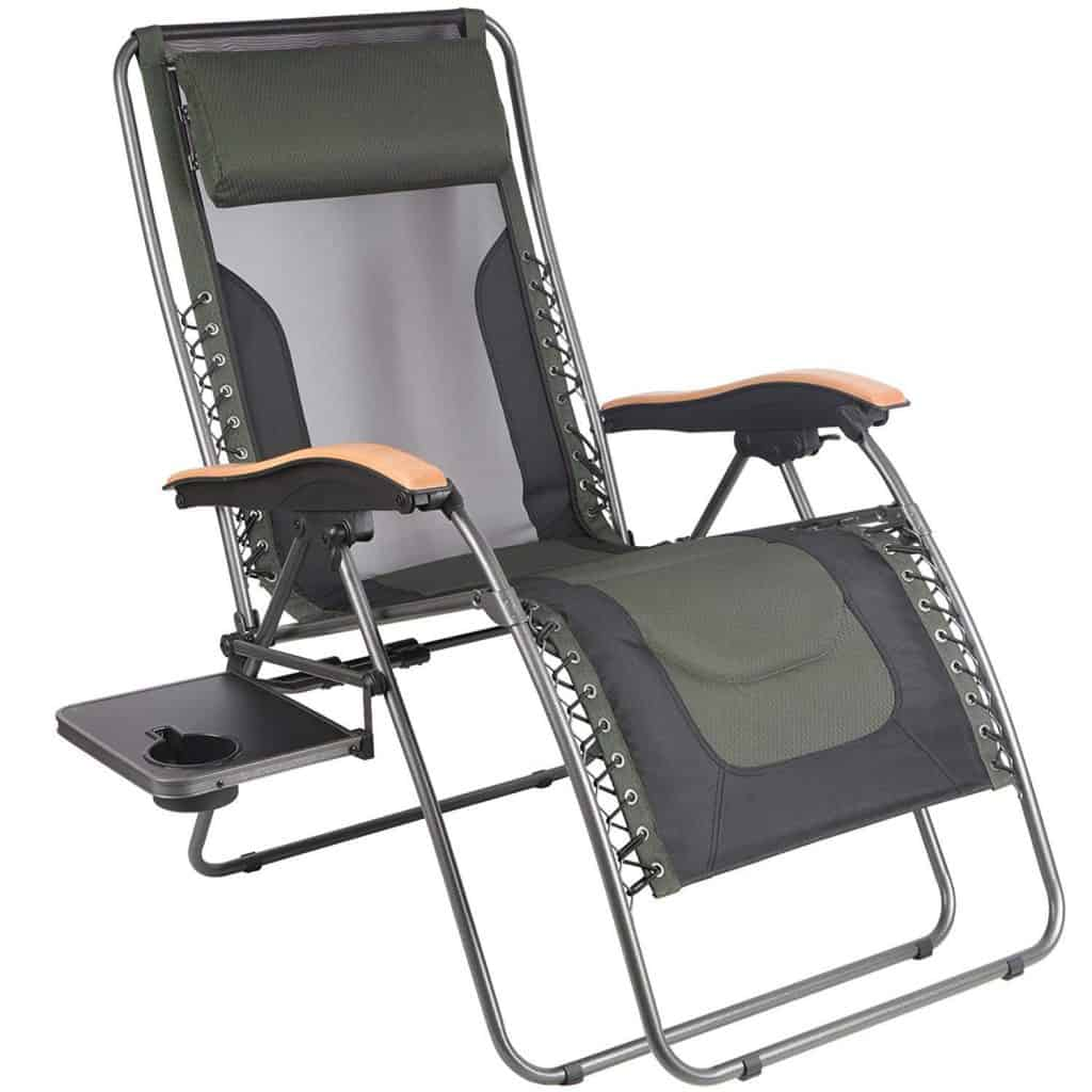 RV Outdoor Living Space Ideas Zero Gravity Chairs by Portal make comfortable RV outdoor furniture.