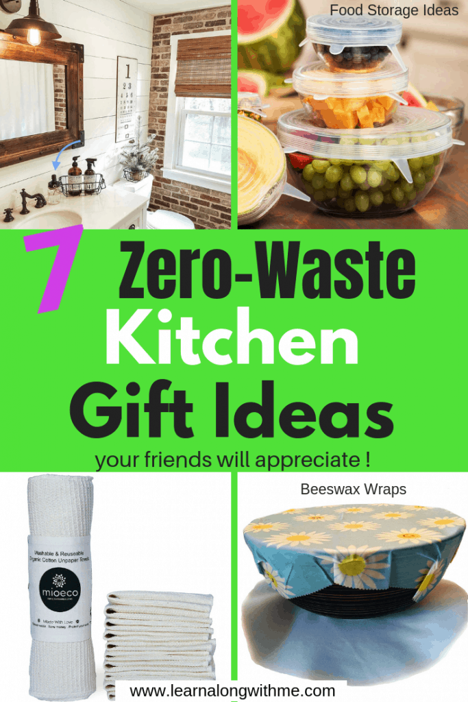 Zero Waste Kitchen Gift Ideas