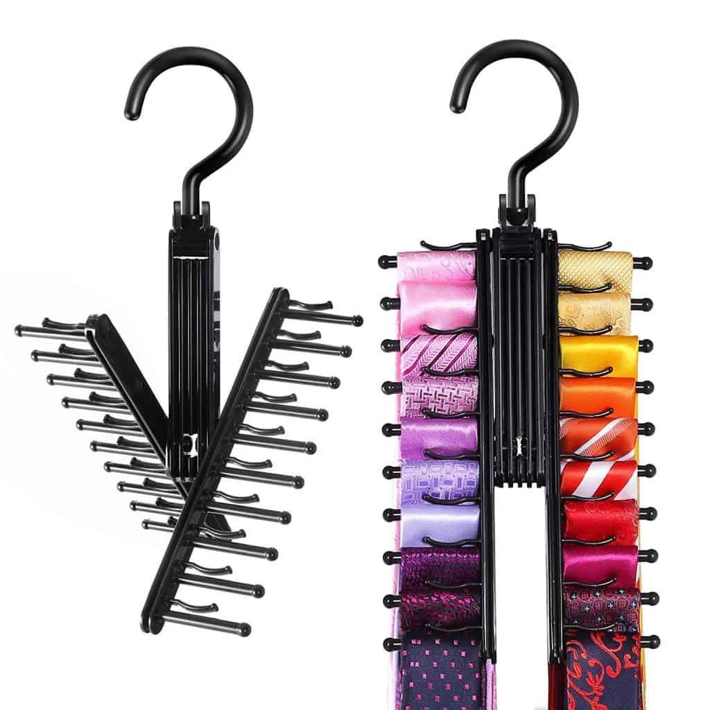 Closet Organizers - Tie Rack Holder