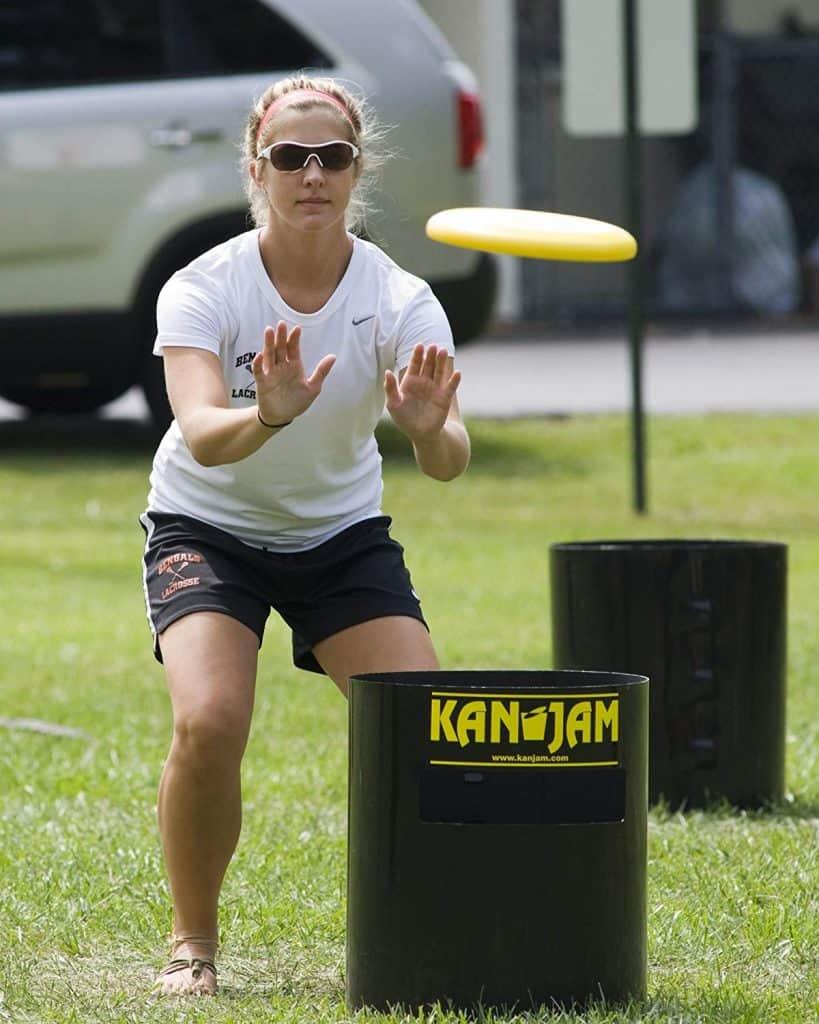 KanJam outdoor camping game fun