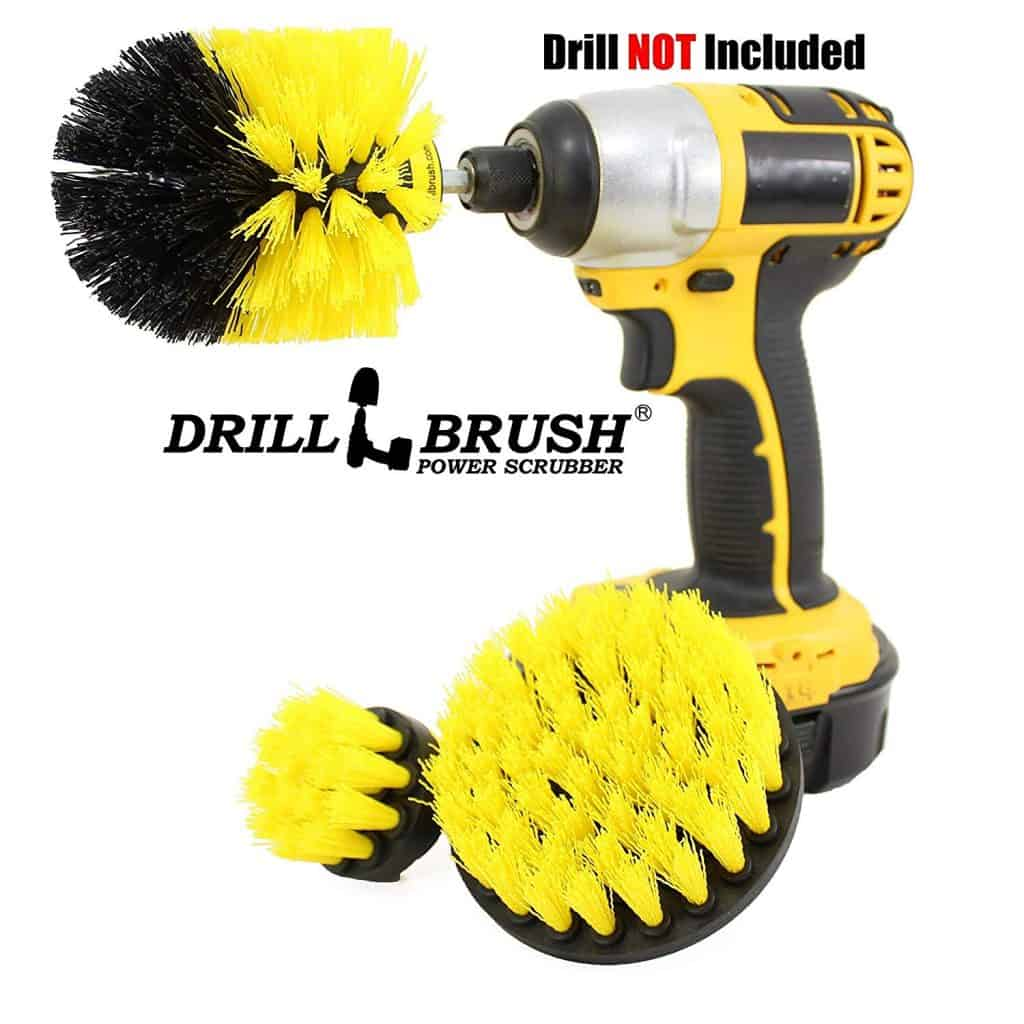 House cleaning made easier - Drillbrush cleaning brush kit