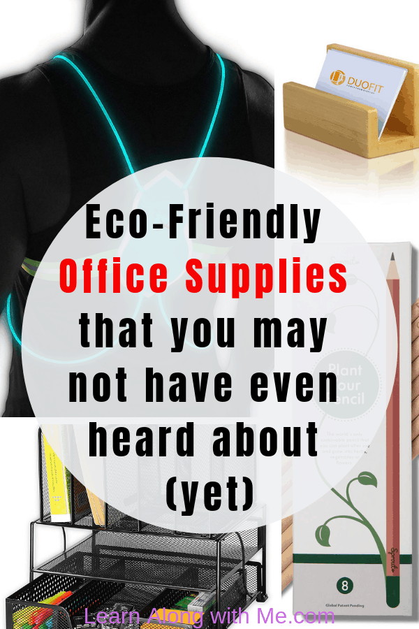 Eco-Friendly Office Supplies