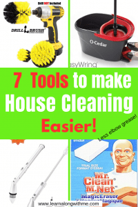 Tools to make House Cleaning Easier