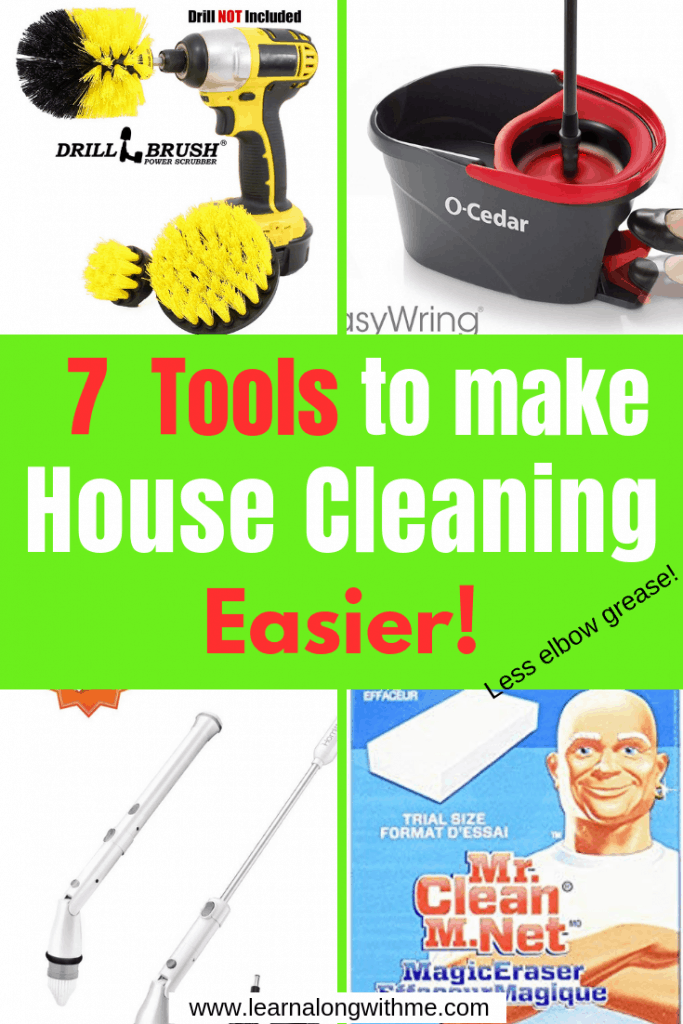 7 Tools to make House Cleaning Easier