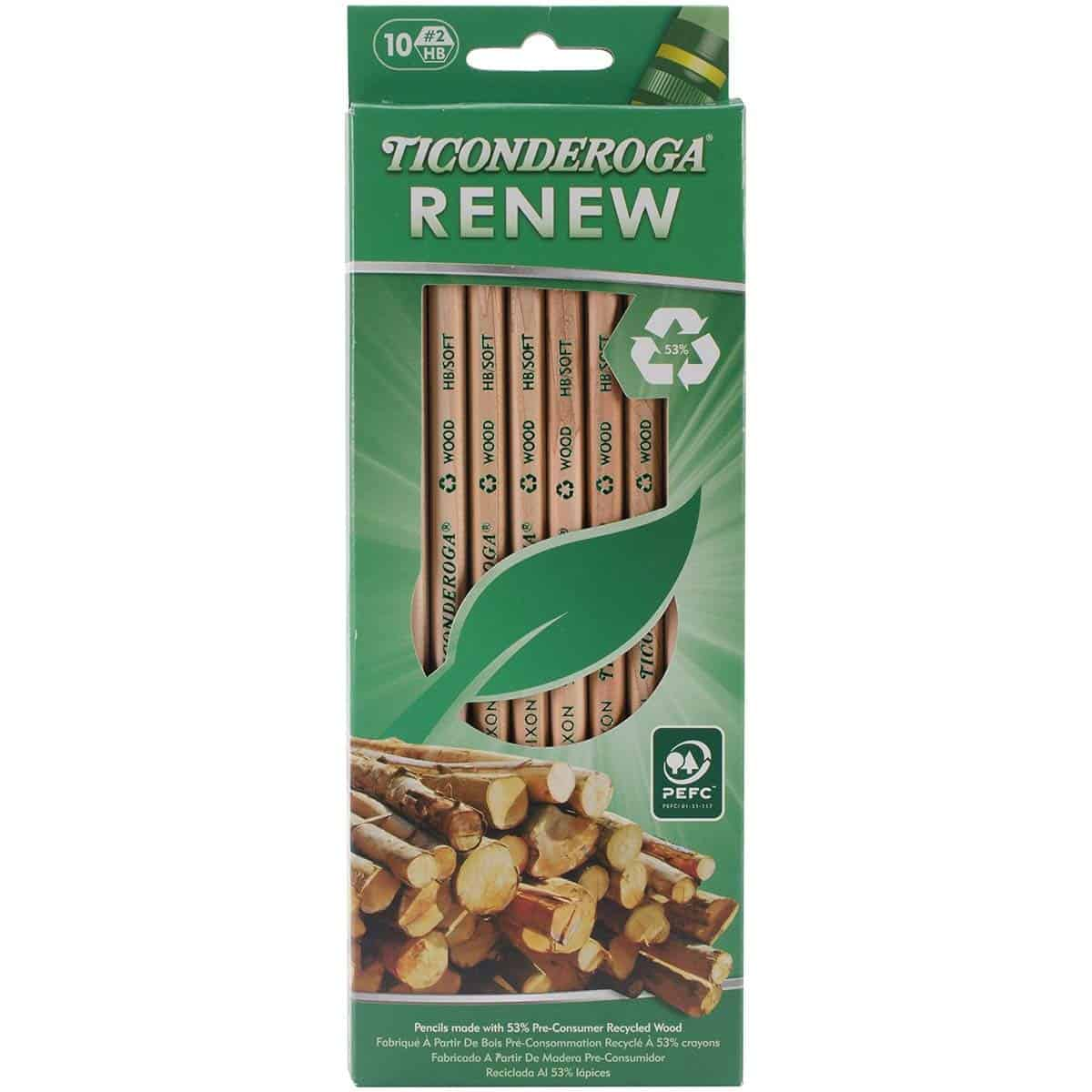 Eco-friendly office supplies Pencils