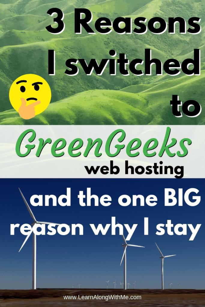 GreenGeeks Hosting my review