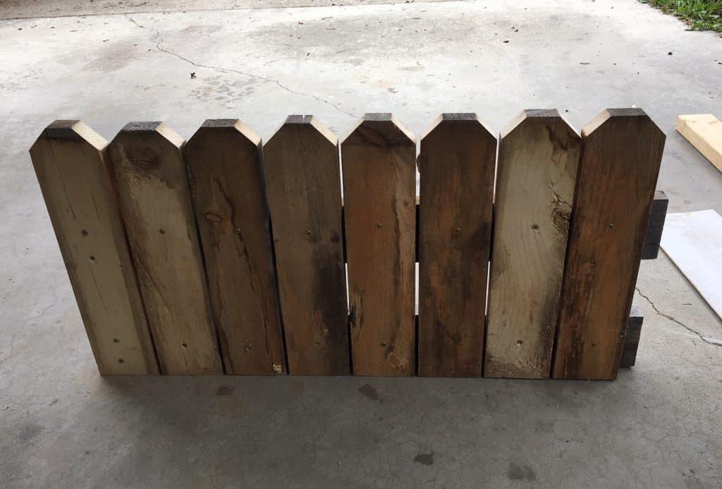 Cheap Raised garden Bed DIY side panel