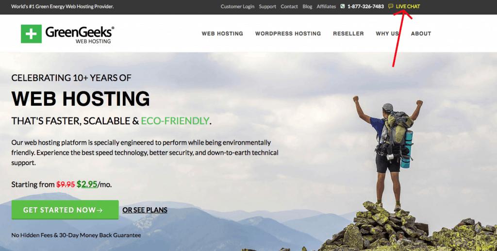 GreenGeeks review of hosting
