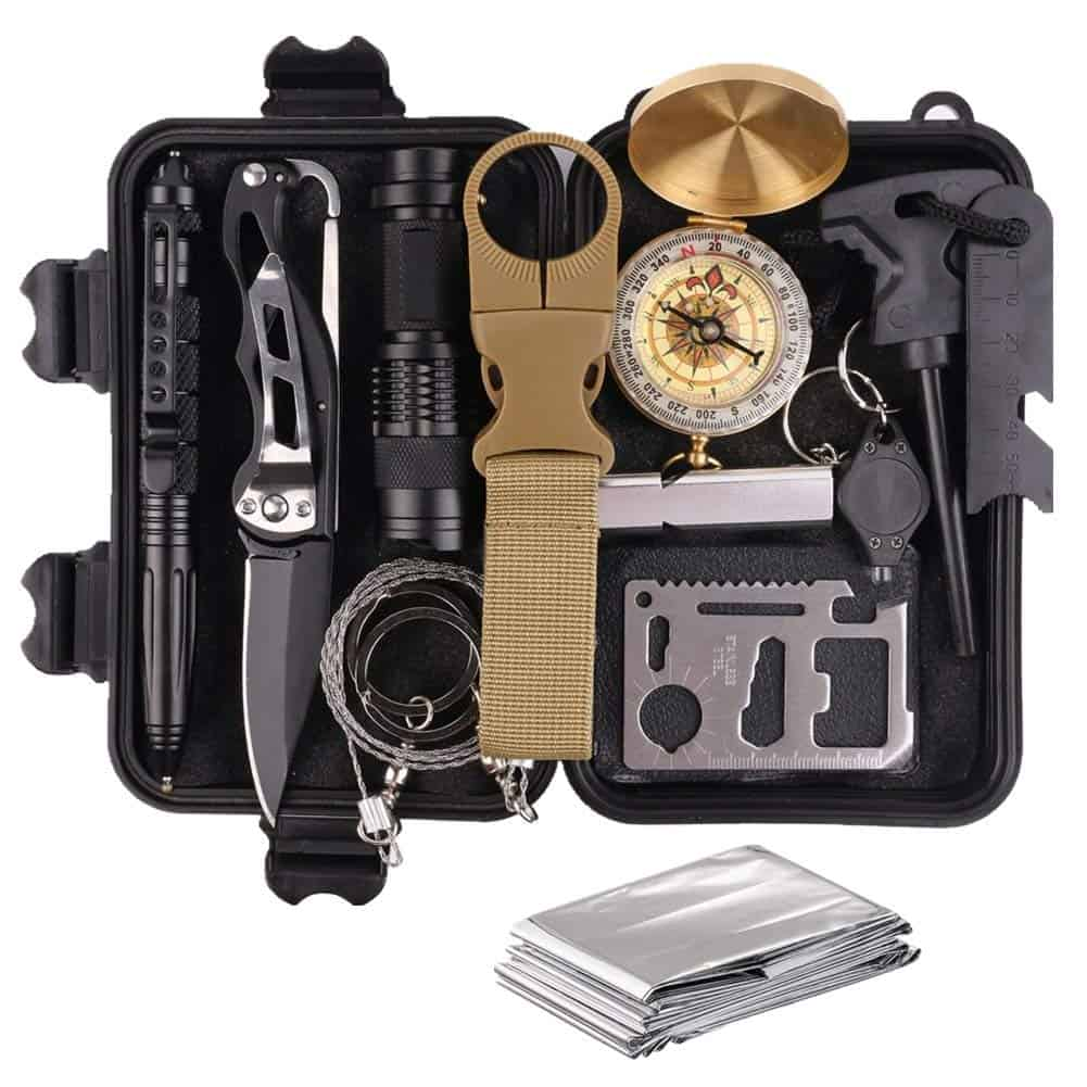 Hiking Gear survival kit