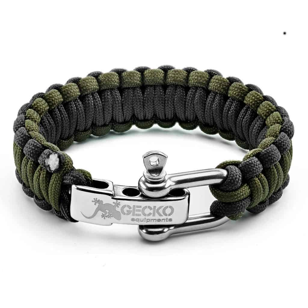 Hiking Gear paracord bracelet