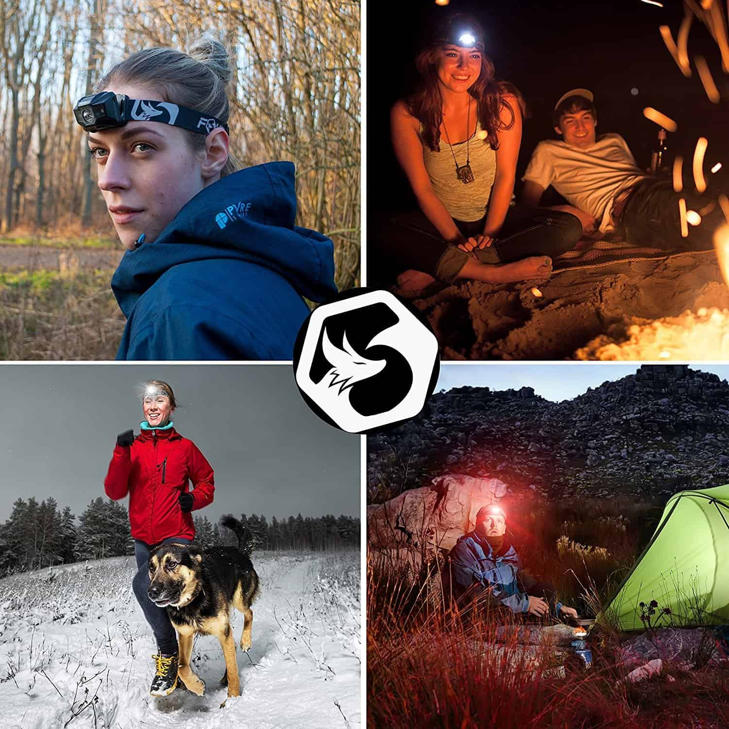 Hiking Gear rechargeable headlamp