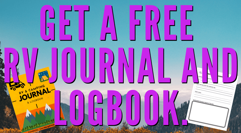 RV Organization - free RV journal and logbook