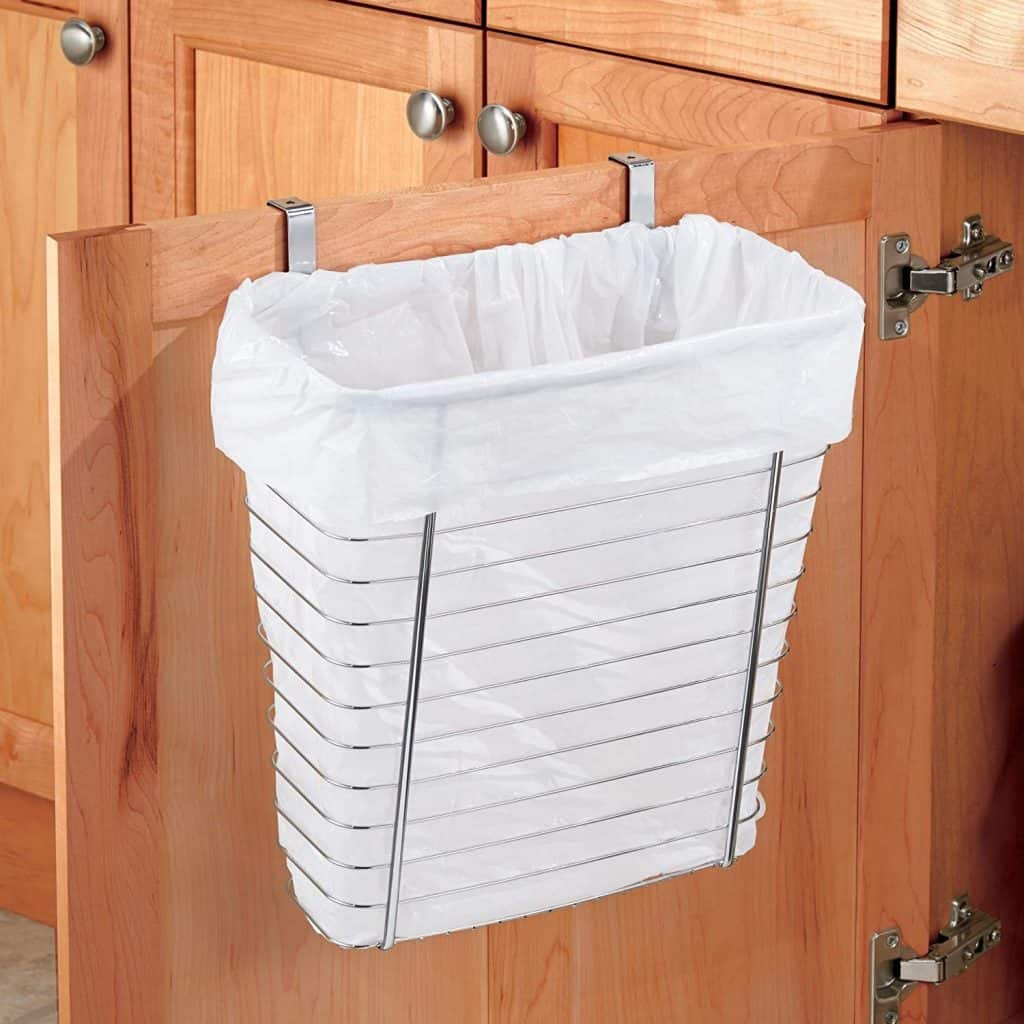 RV organization ideas - RV Bathroom Storage Ideas - over the cabinet door organizer