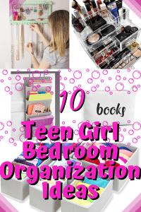Teen Girl Bedroom Organization Ideas