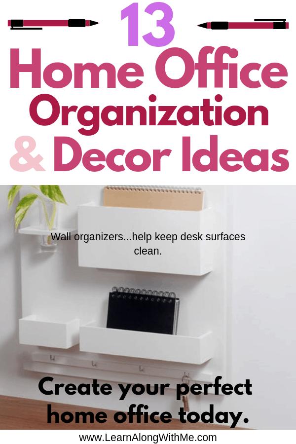 Home Office Organization Ideas and Decor Ideas
