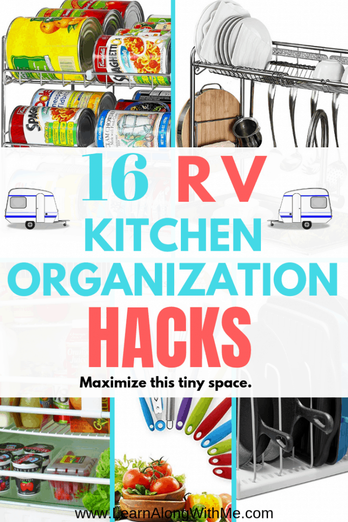 RV Kitchen organization hacks