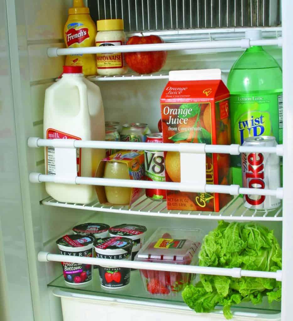 RV accessories fridge bar