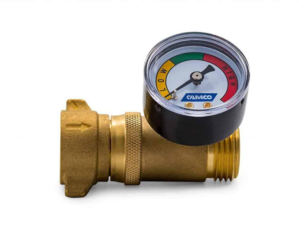 RV accessories water pressure regulator