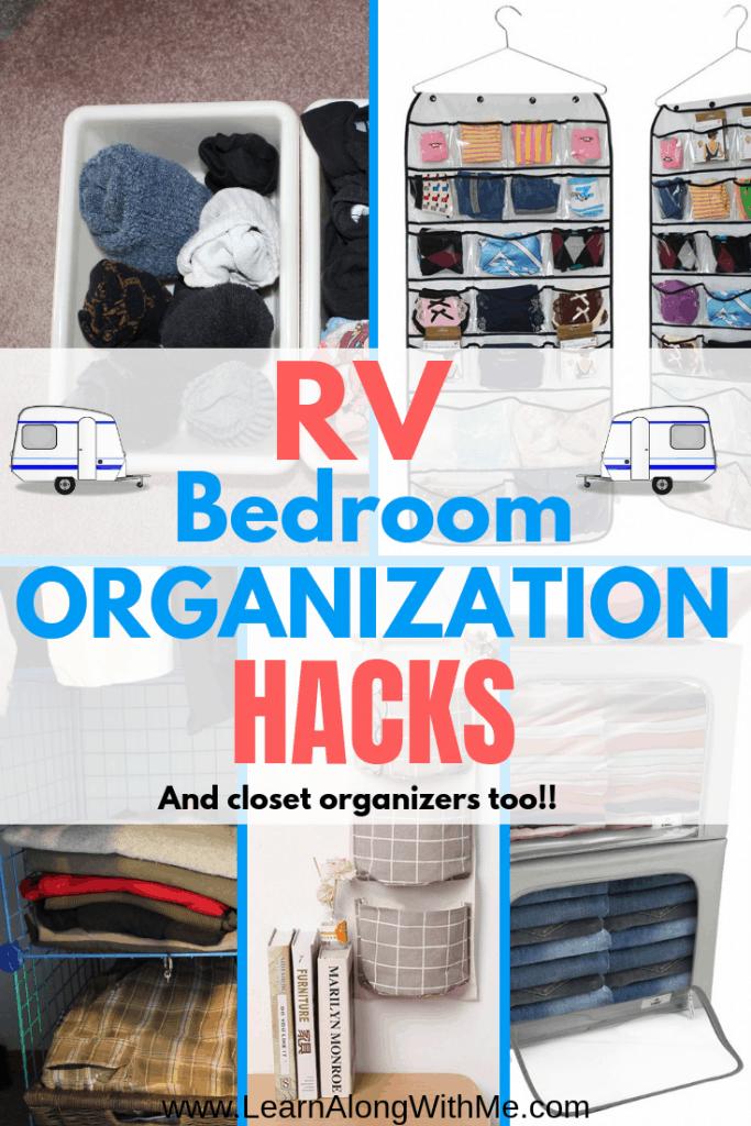 13 Simple RV Bedroom Organization Ideas [so You