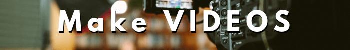 Best Side Hustle Business Ideas - make videos, YouTube channels