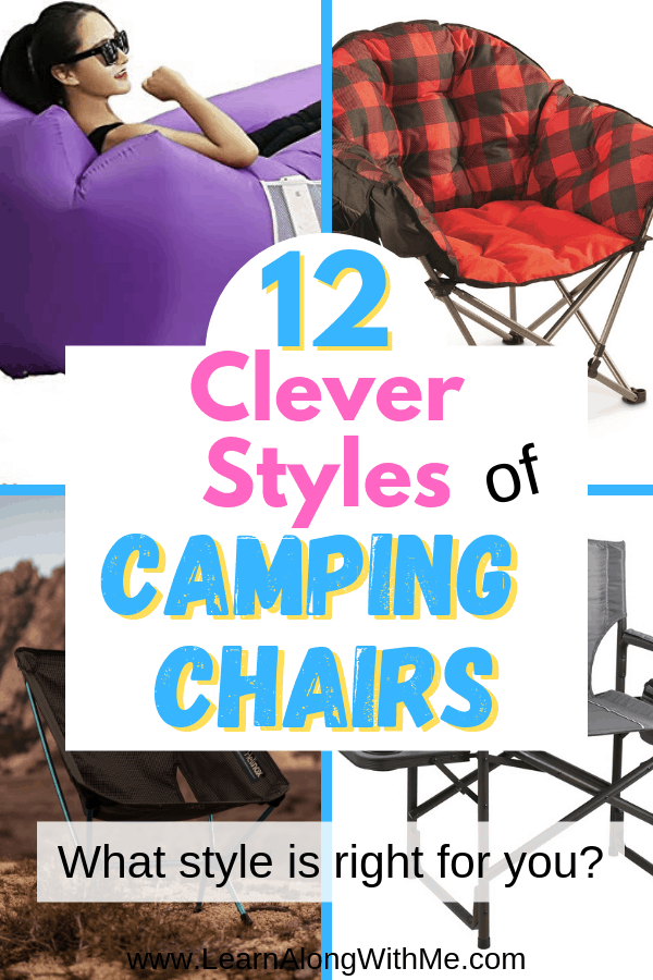 Camping chairs and includes some great inflatable camping chairs, camping chairs with footrest, and more...