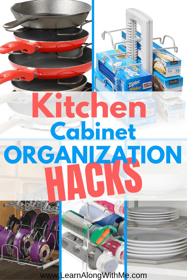 Kitchen Cabinet Organizers and Kitchen Cabinet Organization Ideas